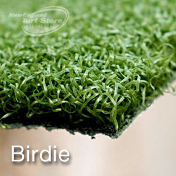 Our Birdie line of synthetic turf for your putting green