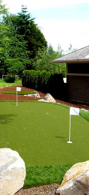 Massachusetts Custom Putting Greens