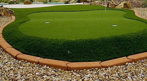 Nice Putting Green Backyard ...