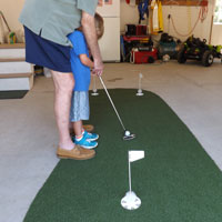 Massachusetts Portable putting greens