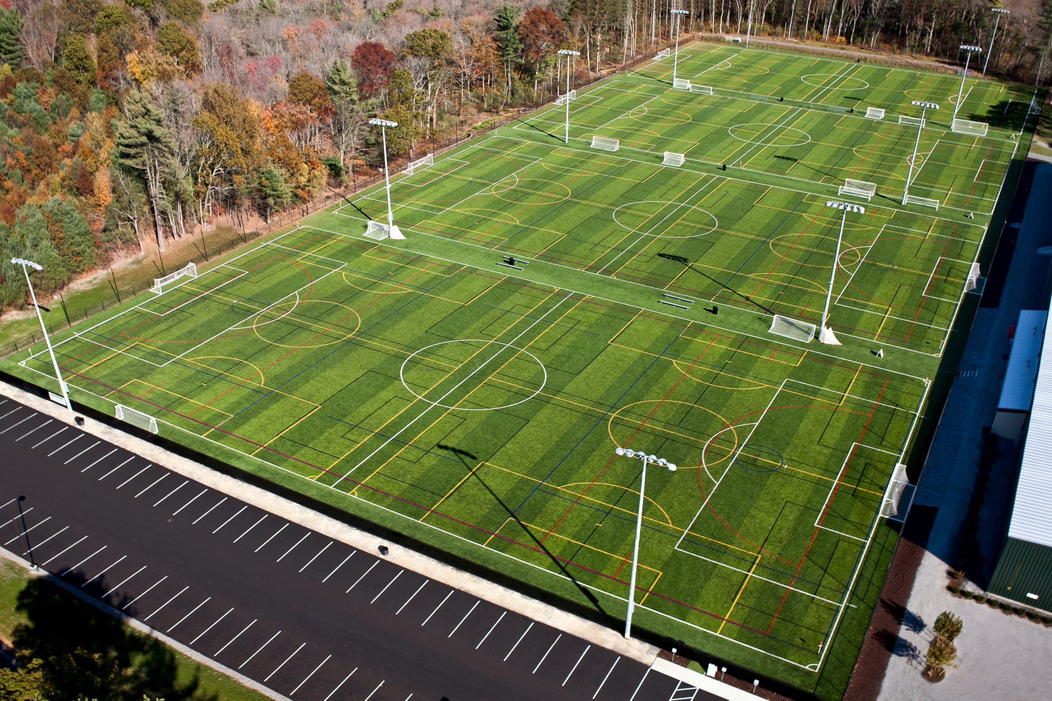 Backyard Turf Field : Outdoor turf at Forekicks in Taunton