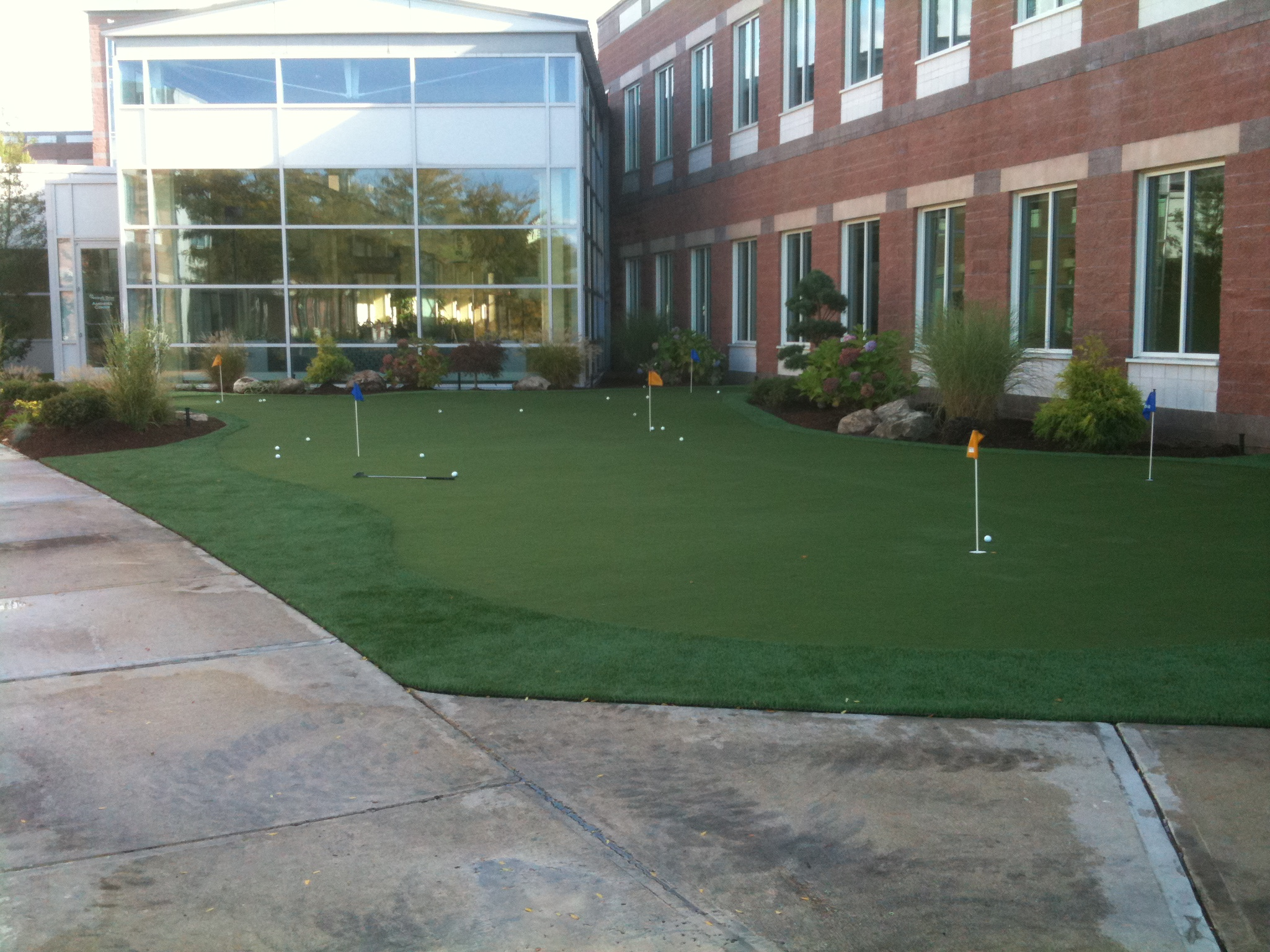 Office Putting Green