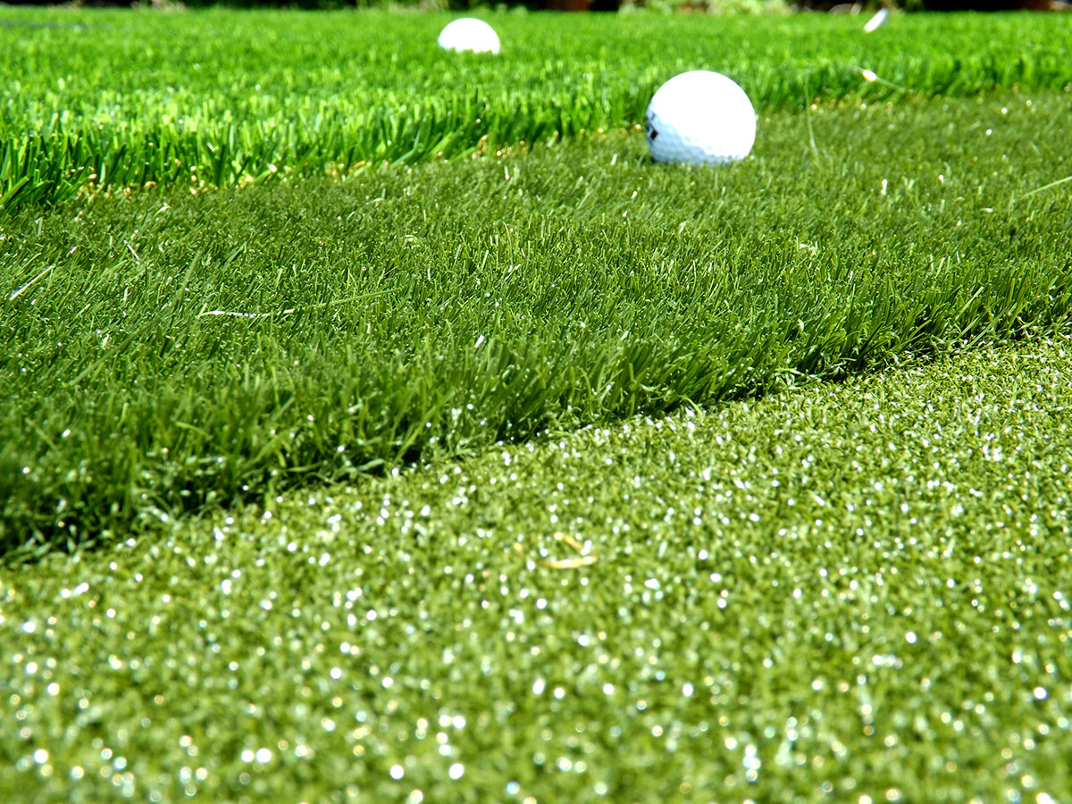 Our three layered artificial putting greens