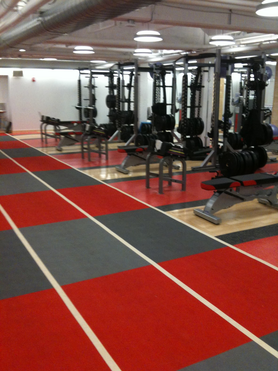 Northeastern Hockey Weight Room 002
