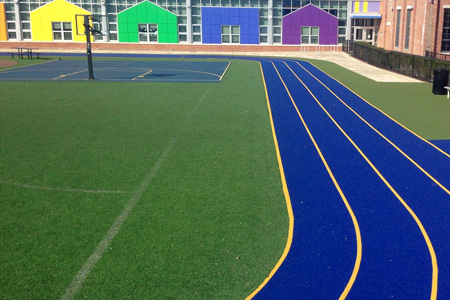 SpeedTurf artificial turf for sports complexes