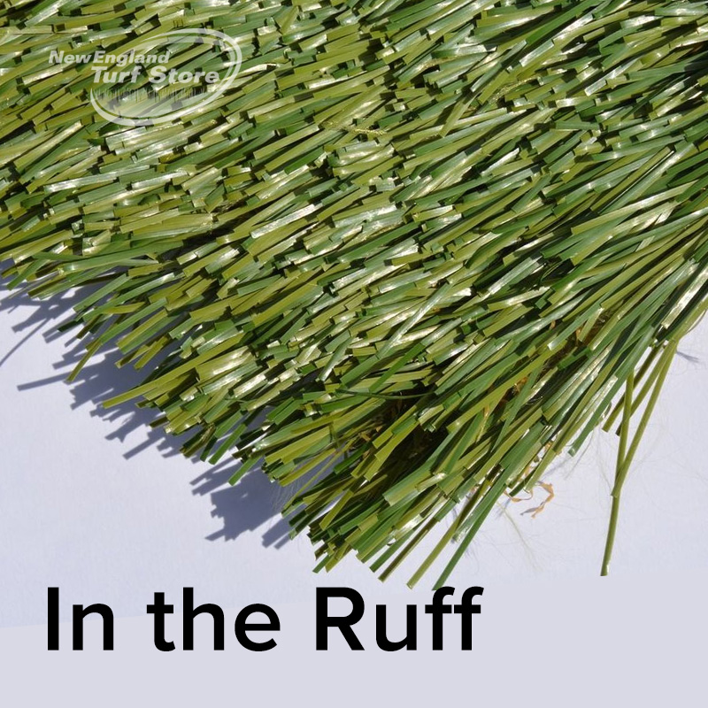 in the ruff home golf green turf