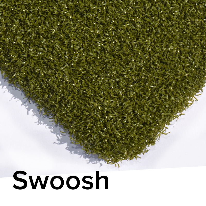 swoosh putting green material
